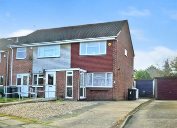Thumbnail 2 bed semi-detached house to rent in Manville Close, Bramcote