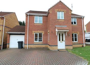 Thumbnail 4 bed detached house to rent in Swallow Crescent, Rawmarsh, Rotherham, South Yorkshire