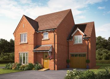 "Thumbnail 4 bedroom detached house for sale in ""The Bindwood"" at Knightley Road, Gnosall, Stafford"