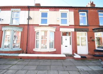 Thumbnail 3 bed terraced house for sale in Edenfield Road, Wavertree, Liverpool