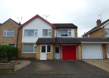 Thumbnail 4 bed semi-detached house for sale in Hawthorne Drive, Blaby, Leicester, Leicestershire