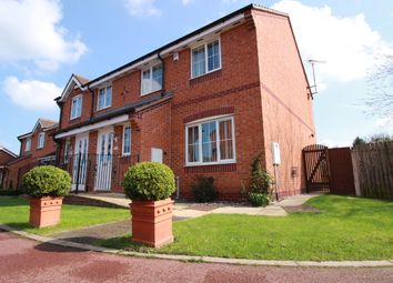 Thumbnail 3 bed town house for sale in Bracken Court, Bilsthorpe, Newark