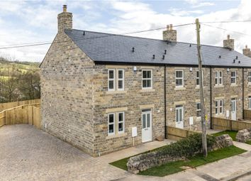 Thumbnail 3 bed end terrace house for sale in Church View, Dacre Banks, Harrogate, North Yorkshire