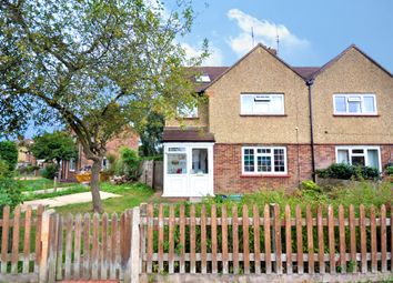 Thumbnail 4 bed semi-detached house for sale in Newlands Close, Hersham, Walton-On-Thames