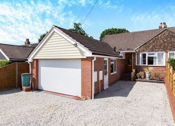 Thumbnail 3 bed semi-detached bungalow for sale in Cumber Road, Locks Heath, Southampton