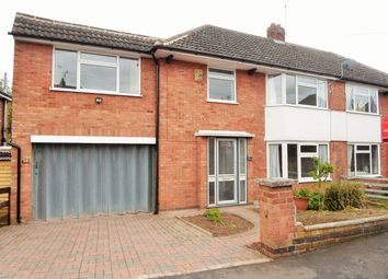 4 bed semi-detached house for sale in Highcroft Avenue, Oadby LE2