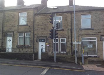Thumbnail 3 bed terraced house to rent in Haworth Road, Sandy Lane, Nr Cottingley, Bradford