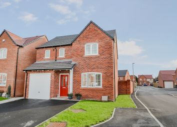 Thumbnail 3 bed detached house for sale in Wright Avenue, Newport