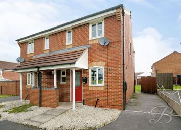 Thumbnail 2 bedroom semi-detached house for sale in Lavender Close, Shirebrook, Mansfield