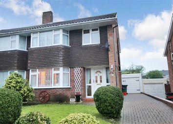 Thumbnail 3 bedroom semi-detached house for sale in Buckingham Road, Lawn, Swindon, Wiltshire
