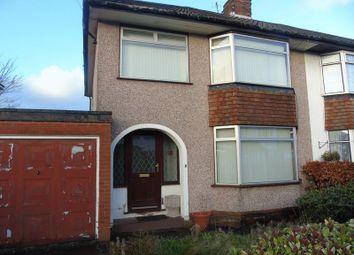 Thumbnail 3 bed semi-detached house for sale in Weaver Avenue, Rainhill, Prescot