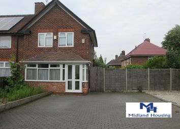Thumbnail 2 bed semi-detached house to rent in Elsworth Grove, Yardley, Birmingham