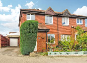 Thumbnail 3 bed semi-detached house for sale in Dickens Court, Biggleswade