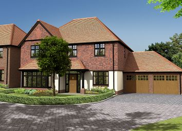 Thumbnail 5 bed detached house for sale in Knights Park, Bletchingley Road, Godstone, Surrey