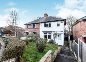 Thumbnail 2 bed semi-detached house for sale in Gainford Road, Birmingham