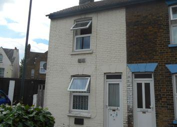 Thumbnail 2 bed end terrace house for sale in Jeffery Street, Gillingham