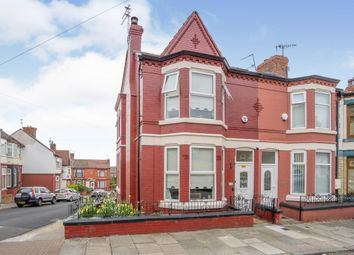Thumbnail 3 bedroom end terrace house for sale in Bankville Road, Tranmere, Birkenhead