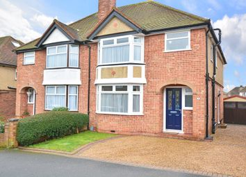 Thumbnail 4 bed semi-detached house for sale in Byrefield Road, Guildford