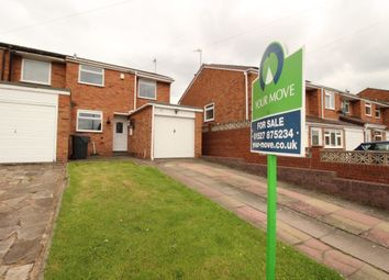 Thumbnail 2 bed semi-detached house for sale in Grayshott Close, Bromsgrove