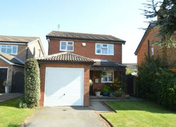 Thumbnail 3 bed detached house for sale in The Burrows, Narborough, Leicester