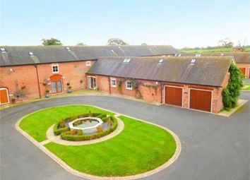 Thumbnail 4 bed mews house for sale in Deans Lane, Balterley, Crewe, Cheshire
