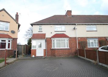 Thumbnail 3 bed semi-detached house to rent in Downing Street, Halesowen, West Midlands
