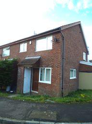 Thumbnail 1 bed terraced house to rent in Hazeldene Avenue, Brackla, Bridgend
