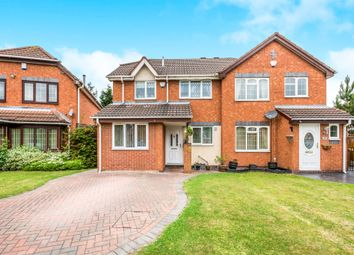 Thumbnail 3 bed semi-detached house for sale in Ashburn Grove, Willenhall