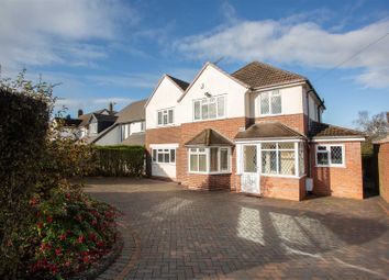 Thumbnail 5 bed detached house for sale in Wood Lane, Streetly, Sutton Coldfield
