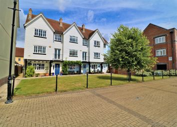 Thumbnail 4 bed town house for sale in West Quay, Wivenhoe, Colchester, Essex