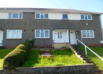 Thumbnail 2 bed flat to rent in Caergynydd Road, Waunarlwydd, Swansea