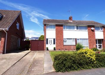 Thumbnail 3 bed semi-detached house for sale in Seaton Road, Wigston, Leicester, Leicestershire