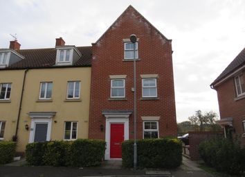 Thumbnail 4 bed town house to rent in Harpers Way, Clacton-On-Sea