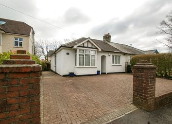 Thumbnail 3 bed semi-detached bungalow for sale in Bryncerdin Road, Newton, Swansea