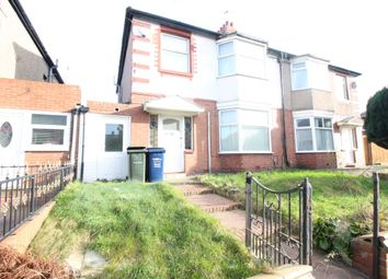 Thumbnail 3 bed semi-detached house to rent in Milvain Avenue, Fenham, Newcastle Upon Tyne
