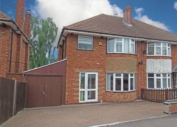 Thumbnail 3 bed semi-detached house for sale in Lonsdale Road, Thurmaston, Leicester, Leicestershire