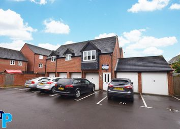 Thumbnail 2 bed flat for sale in Foss Road, Hilton, Derby.