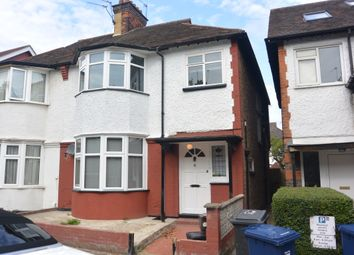 Thumbnail 3 bed semi-detached house to rent in Powis Gardens, Golders Green