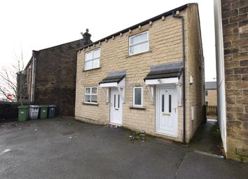 Thumbnail 2 bed flat to rent in Quarmby Road, Quarmby, Huddersfield