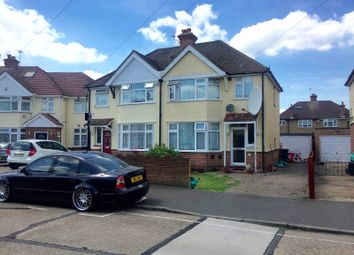 Thumbnail 3 bed semi-detached house for sale in Iverna Gardens, Bedfont/Feltham