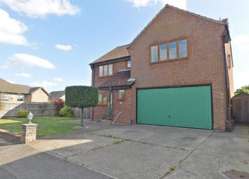Thumbnail 4 bed detached house for sale in Furzehall Avenue, Fareham