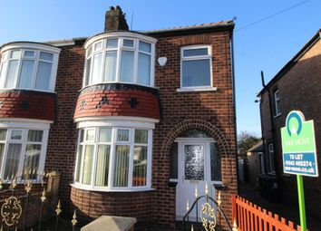 Thumbnail 3 bed semi-detached house to rent in Westbourne Grove, South Bank, Middlesbrough