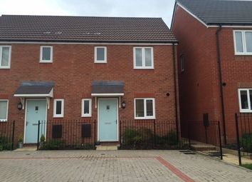 Thumbnail 2 bed semi-detached house to rent in Brambles Walk, Wellington, Telford