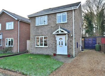 Thumbnail 3 bedroom detached house to rent in Peckover Way, South Wootton, King's Lynn