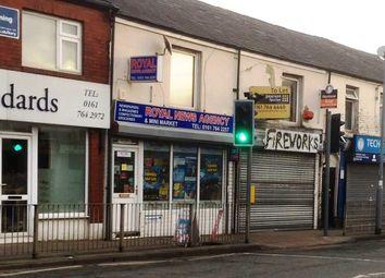 Thumbnail Retail premises for sale in Bury Old Road, Walmersley, Bury