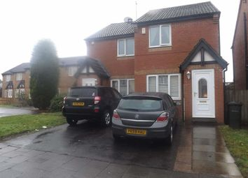 Thumbnail 2 bed link-detached house for sale in Ambergate Close, Westerhope, Newcastle Upon Tyne