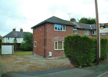 Thumbnail 3 bedroom semi-detached house for sale in Oakfield Road, Hawarden, Deeside