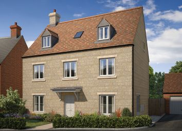 "Thumbnail 5 bed detached house for sale in ""The Lambourne"" at Stratford Road, Mickleton, Chipping Campden"