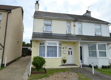 Thumbnail 3 bed semi-detached house for sale in Amerells Road, Little Clacton, Clacton-On-Sea, Essex