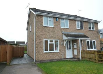 Thumbnail 3 bed semi-detached house for sale in Worsley Way, Whetstone, Leicester